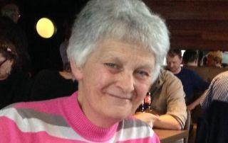 Linda Morgan at Oban