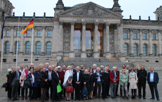 "9 The Faculty Dinner at Restaurant ""Käfer"" in top of the Reichstag"
